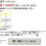 楽天RMSの項目選択肢別在庫に出る納期のデザインを変更